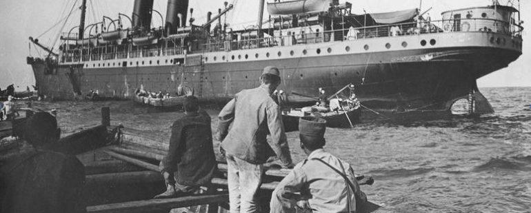 Casablanca au temps des paquebots de ligne